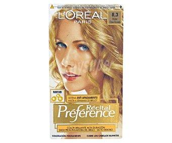 Preference L'Oréal Paris Tte Dorado 8,3 1u