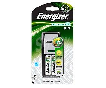 Energizer Cargador Mini + 2 pilas AAA 2000 mah 1 Unidad