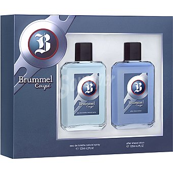 Brummel Coupé eau de toilette natural masculina + after shave loción frasco 125 ml Spray 125 ml