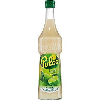 Pulco Refresco concentrado de lima botella 75 cl Botella 75 cl