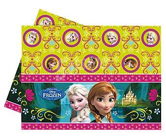 Disney Mantel rectangular de plástico con diseño Frozen, 120x180 centímetros 1 unidad
