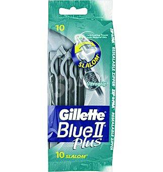 Gillette Máquina de afeitar plus 10 unidades