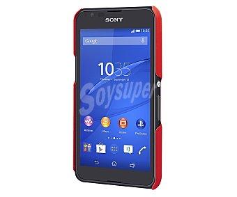 MADE FOR XPERIA Carcasa trasera Roja, válida para Sony Xperia E4G. (teléfono no incluido)