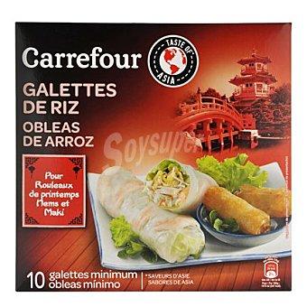 Carrefour Obleas de arroz para rollitos 100 g