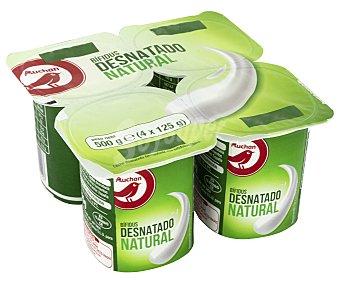 Producto Alcampo Bífidus desnatado de sabor natural 4 x 125 g
