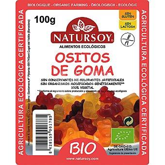 NATURSOY bio ositos de goma biológicos bolsa 75 g