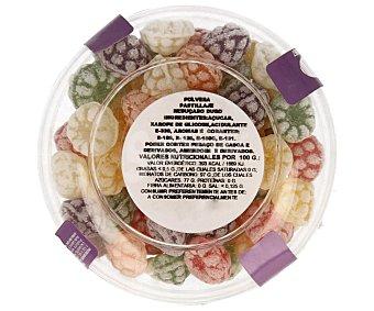 Miguelañez Caramelos tipo polveras de diferentes sabores 100 gramos