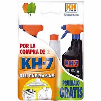KH-7 Pack KH-7 quitagrasa pistola + recambio 750 ml con regalo de una pistola de vitrocerámica 750 ml