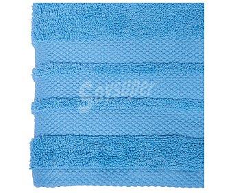 Actuel Toalla para lavabo 100% algodón color azul turquesa, densidad de 500 gramos/metro², 50x100 centímetros 1 unidad