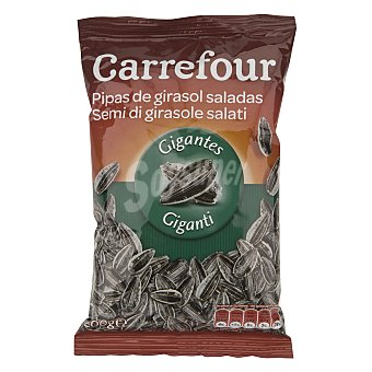 Carrefour Pipas gigantes saladas 200 g