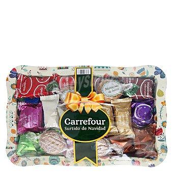 Carrefour Bandeja surtido mantecados 700 g