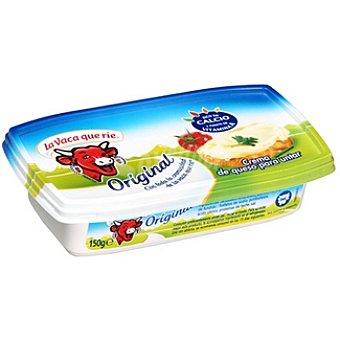 La Vaca que ríe crema de queso original  envase 150 g