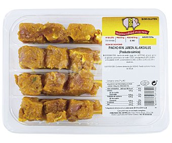 Emcesa Pincho mini de jamón Al-Andalus 160 gramos