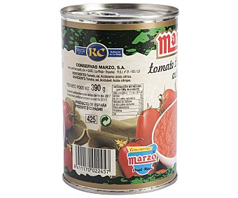 Marzo Tomate Triturado al Natural Tomata Triturado Nat390g
