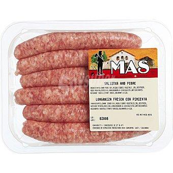 E.MAS Salchicha fresca blanca sin pimienta peso aproximado Bandeja 300 g