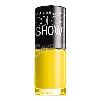 Maybelline New York Laca de uñas colorshow nº 749 elecktrick yellow 1 ud