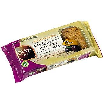 Diet Rádisson Integrales con ciruela Envase 135 g
