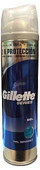 Gillette Gel afeitar piel sensible Bote 240 cc