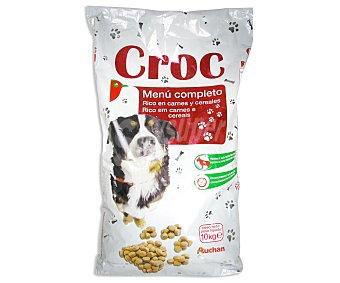 Auchan Comida Seca para Perro: Croquetas Saco de 10 Kilogramos