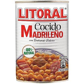 Litoral Cocido madrileño Lata 440 g