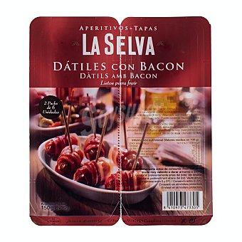 La Selva Dátiles con bacon Paquete 150 g
