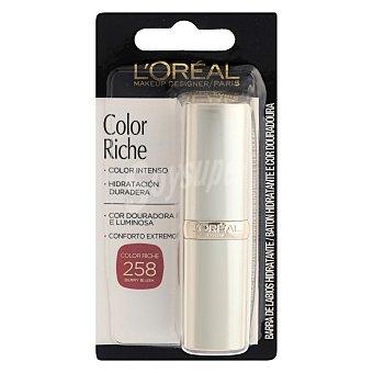 L'Oréal Barra de labios Color Riche nº258 berry blush 1 ud