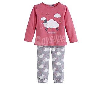 In Extenso Pijama polar largo de niña talla 10