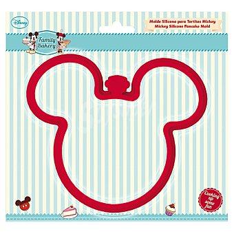 DISNEY Family Bakery Molde de silicona para tortitas con perfil de Mickey
