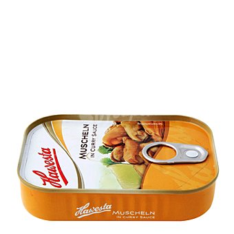Hawesta Mejillón en salsa curry 110 g