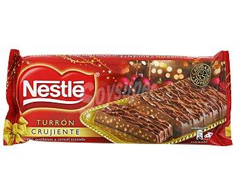 Nestlé Turrón de chocolate crujiente 190 gramos