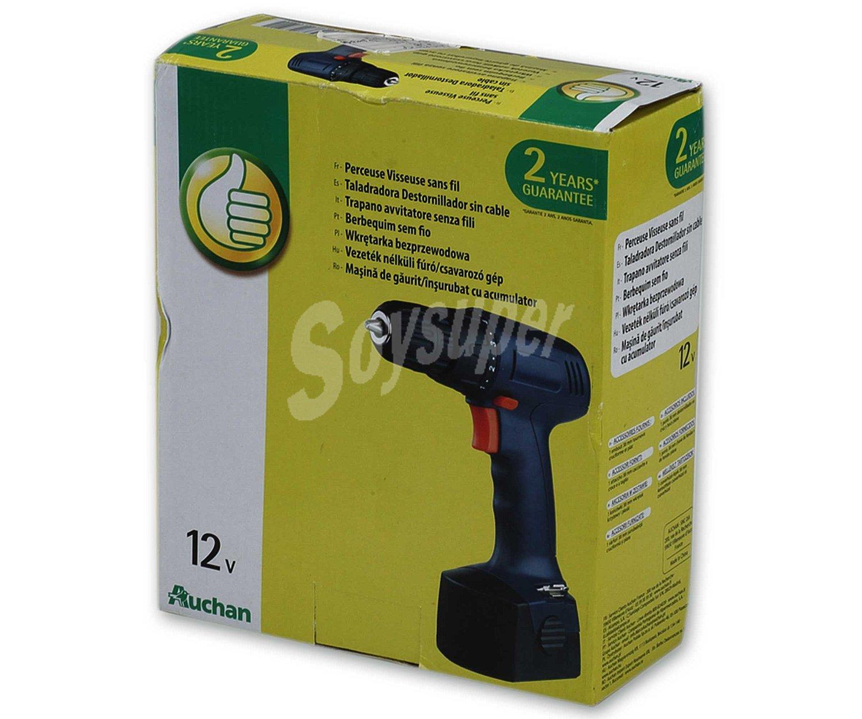 Productos econ micos alcampo taladro atornillador sin for Taladro electrico sin cable