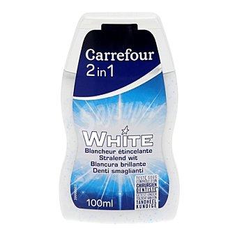 Carrefour Dentífrico 2 en 1 blanqueante 100 ml
