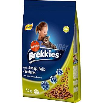Brekkies Affinity con conejo, pollo y verduras paquete 7,5 kg Paquete 7,5 kg