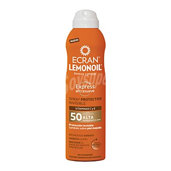Ecran Aftersun Spray protector invisible FP 50 Lemonoil 250 ml