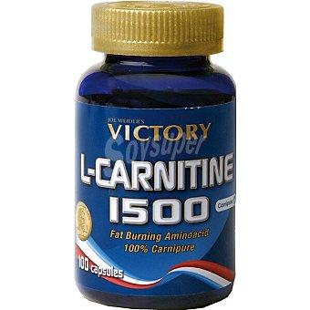 Victory L-carnitina 1500 control de peso quemagrasa ápsulas Envase 100 c