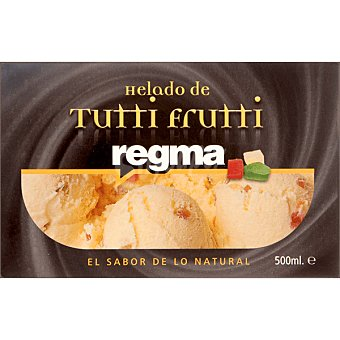 REGMA Helado de tutti frutti tarrina 500 ml Tarrina 500 ml
