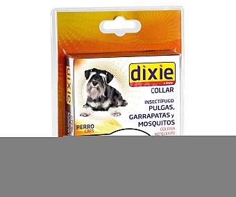 Dixie Collar insectifugo de color negro para perros 1 unidad