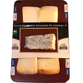Coasa Selección de quesos variados asturianos Envase 275 g