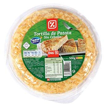 DIA Tortilla refrigerada sin cebolla bolsa 500g