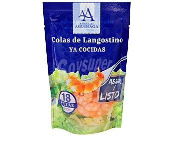 Angulas Aguinaga Colas de langostinos pelados cocidos 90 gramos