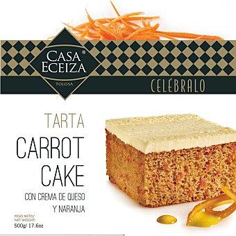 Casa Eceiza Carrot Cake tarta de zanahoria con crema de queso y naranja caja 500 g