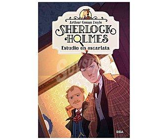 Editorial Rba Sherlock Holmes 1, Estudio en escarlata, arthur conan, SIR doyle. Género: infantil, misterio. Editorial rba.