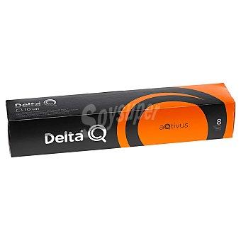 Delta Q Café molido natural en de 5,5 G Cápsulas 10 unidades