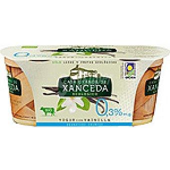 Casa Grande de Xanceda Yogur desnatado cremoso con vainilla Pack 2 unidades 125 g
