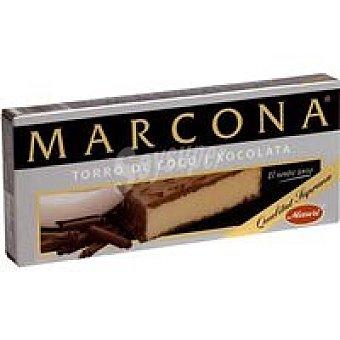 Marcona Turrón de coco con chocolate Caja 200 g