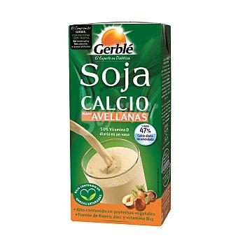 Gerblé Bebida de soja sabor avellanas con calcio Envase 1 l