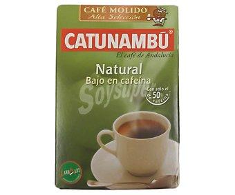 Catunambu Café molido natural bajo en cafeína 250 gramos