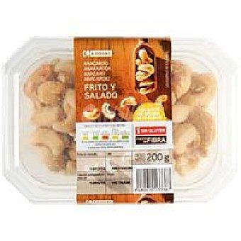 Eroski Anacardos fritos Tarrina 200 g