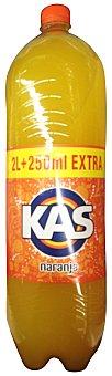 KAS Naranja con gas Botella de 2,25 l