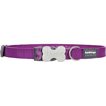 LICE Collar perro color morado talla mediana 1 unidad